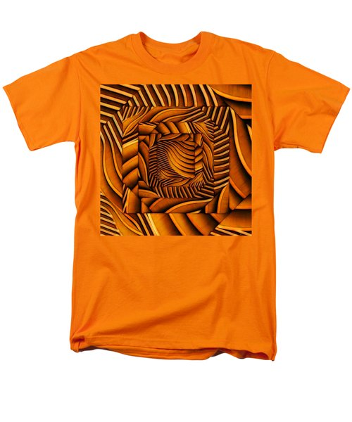 Men's T-Shirt  (Regular Fit) featuring the digital art Groovy by Ron Bissett