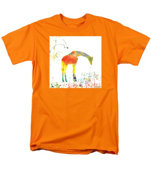 Men's T-Shirt  (Regular Fit) featuring the digital art Hello by Trilby Cole
