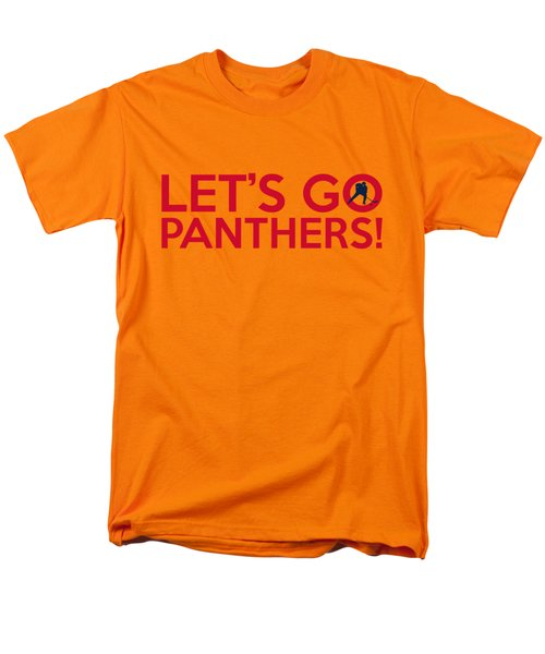 Let's Go Panthers Men's T-Shirt  (Regular Fit) by Florian Rodarte