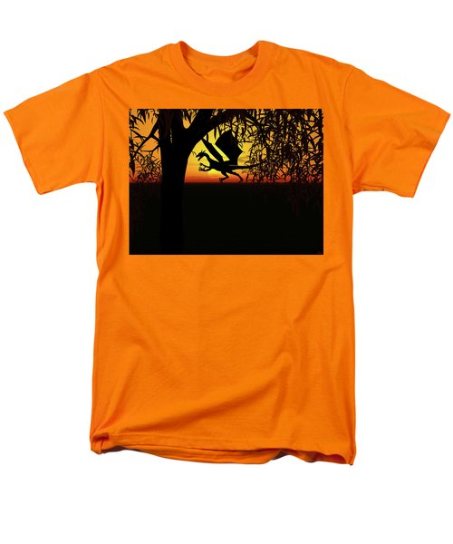 Lights And Shadow Men's T-Shirt  (Regular Fit) by Michele Wilson