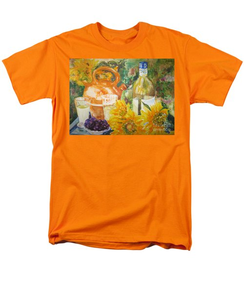 Lunch In Provence Men's T-Shirt  (Regular Fit) by Lisa Boyd