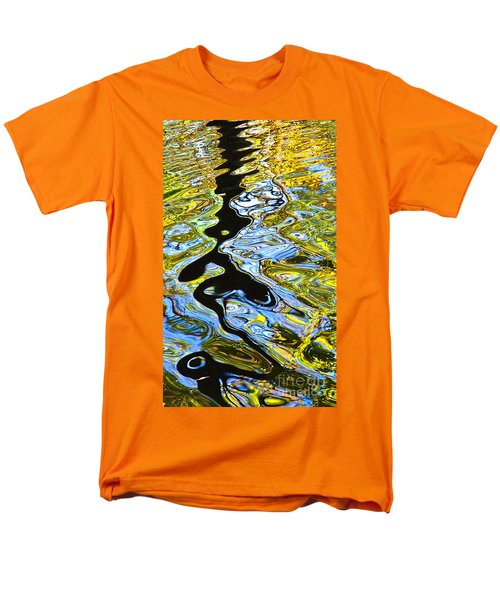 Men's T-Shirt  (Regular Fit) featuring the photograph Mill Pond Reflection by Tom Cameron