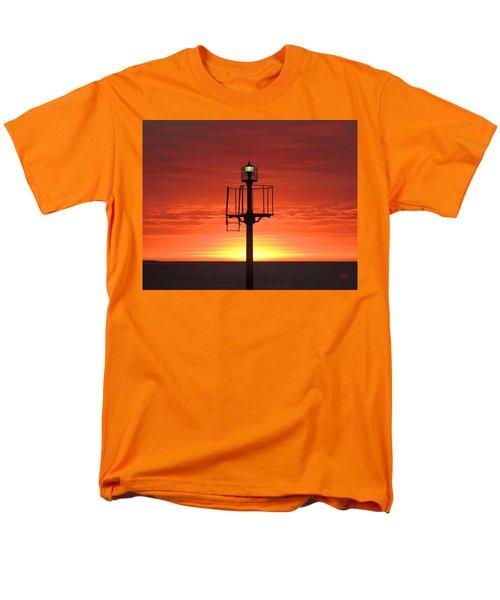 Men's T-Shirt  (Regular Fit) featuring the photograph Port Hughes Lookout by Linda Hollis