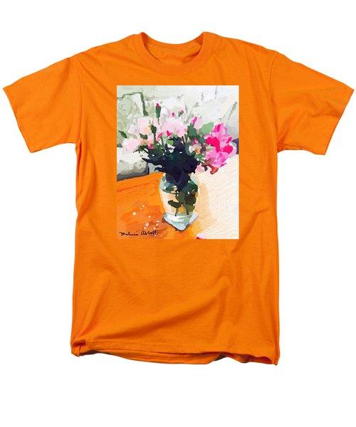 Roses In The Living Room Men's T-Shirt  (Regular Fit) by Melissa Abbott