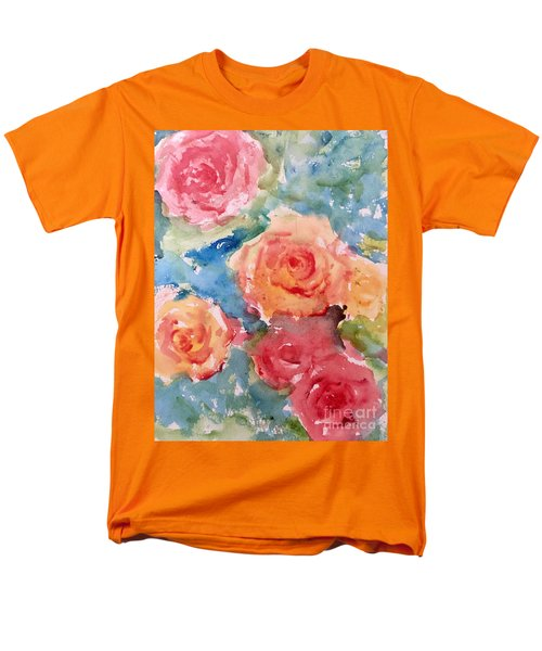 Roses Men's T-Shirt  (Regular Fit) by Trilby Cole