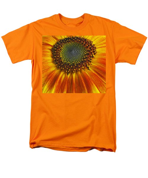 Sunflower Center Men's T-Shirt  (Regular Fit) by Elvira Butler