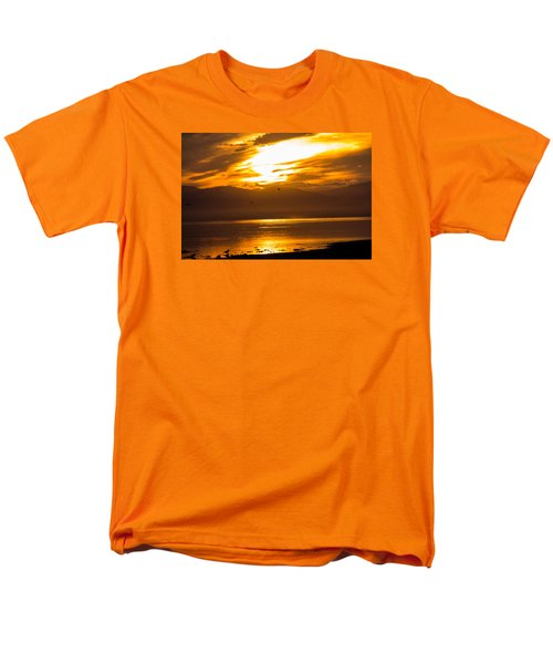Sunset Men's T-Shirt  (Regular Fit) by Hyuntae Kim