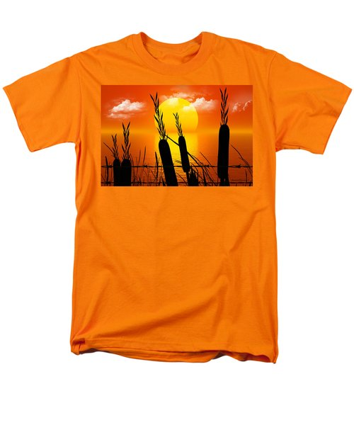 Sunset Lake Men's T-Shirt  (Regular Fit) by Robert Orinski