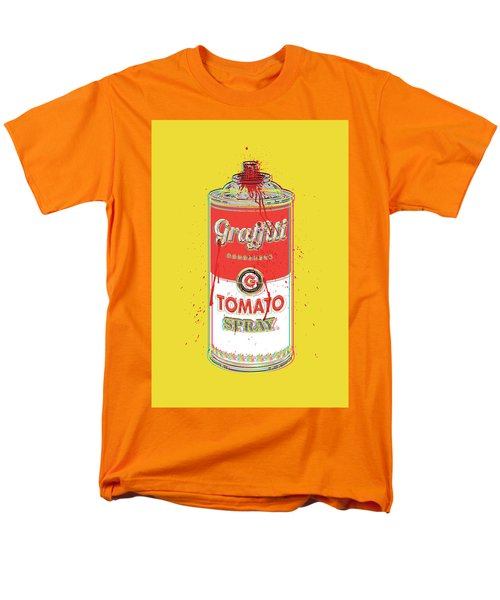 Tomato Spray Can Men's T-Shirt  (Regular Fit) by Gary Grayson