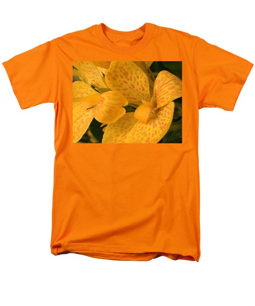 Yellow Lily Men's T-Shirt  (Regular Fit) by Kay Gilley