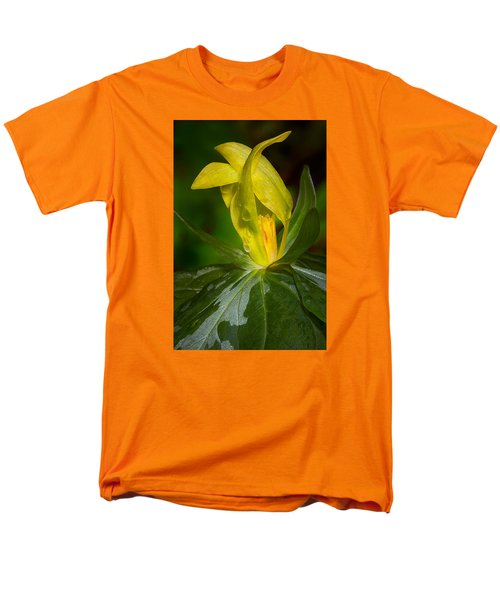Men's T-Shirt  (Regular Fit) featuring the photograph Yellow Trillium by Tyson and Kathy Smith