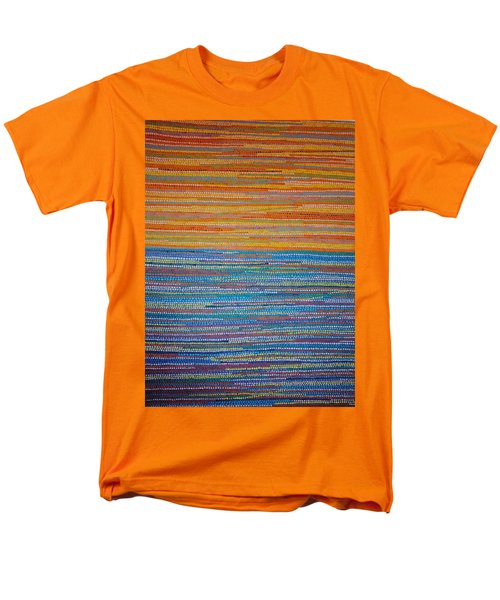 Men's T-Shirt  (Regular Fit) featuring the painting Identity by Kyung Hee Hogg