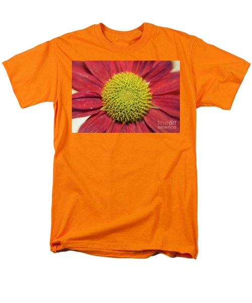 Red Flower Men's T-Shirt  (Regular Fit) by Elvira Ladocki