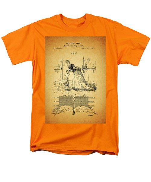 1874 Baby Exercising Corset Men's T-Shirt  (Regular Fit) by Dan Sproul