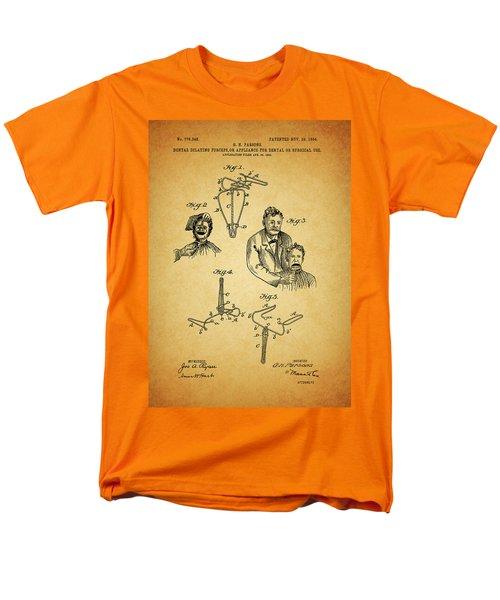 1904 Dental Forceps Patent Men's T-Shirt  (Regular Fit) by Dan Sproul