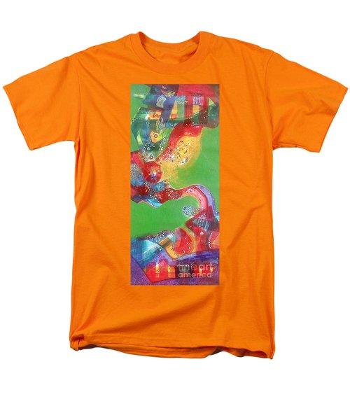 Green Harmony Men's T-Shirt  (Regular Fit) by Sanjay Punekar