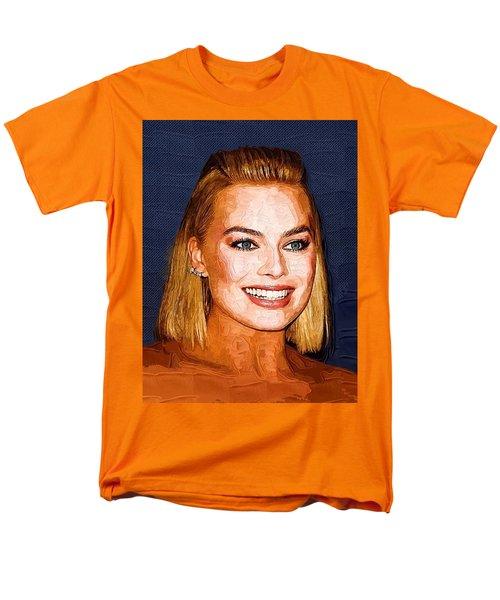 Margot Robbie Art Men's T-Shirt  (Regular Fit) by Best Actors