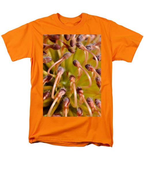 Common Pincushion Protea Men's T-Shirt  (Regular Fit) by Werner Lehmann