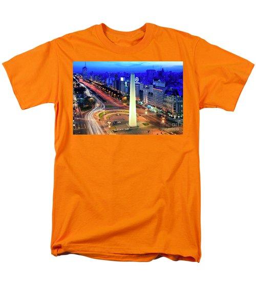 9 De Julio Avenue Men's T-Shirt  (Regular Fit) by Bernardo Galmarini