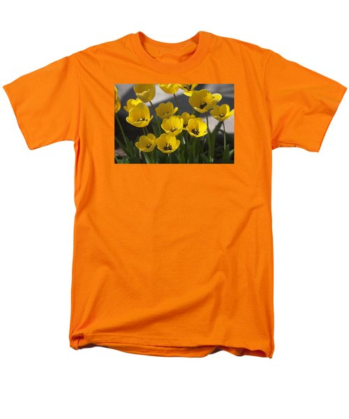 A Gathering Of Tulips Men's T-Shirt  (Regular Fit) by Morris  McClung