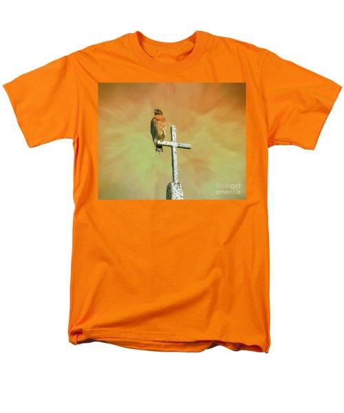 A Powerful Perch Men's T-Shirt  (Regular Fit) by Myrna Bradshaw