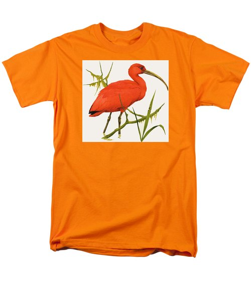 A Scarlet Ibis From South America Men's T-Shirt  (Regular Fit) by Kenneth Lilly