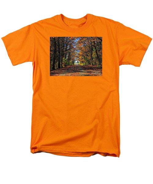 A Stroll Through Autumn Colors Men's T-Shirt  (Regular Fit) by Marcia Lee Jones