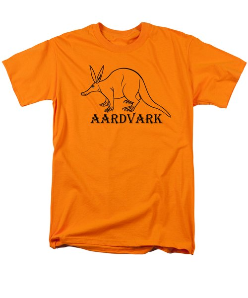 Aardvark Men's T-Shirt  (Regular Fit) by Sarah Greenwell