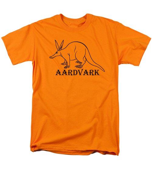Aardvark Men's T-Shirt  (Regular Fit)