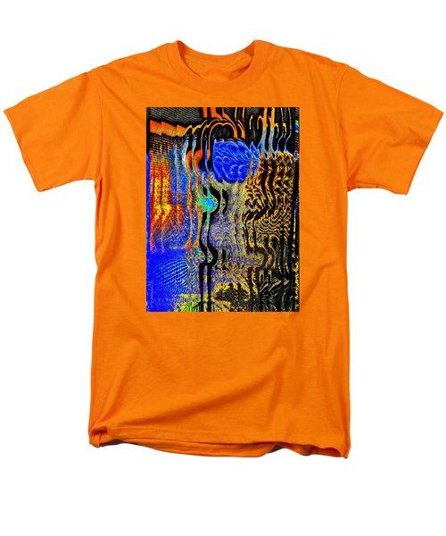 Men's T-Shirt  (Regular Fit) featuring the photograph Abstract Photography 001-16 by Mimulux patricia no No