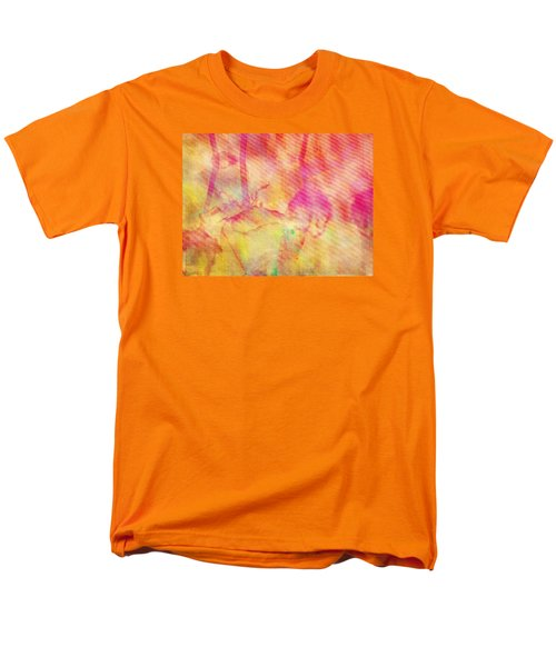 Men's T-Shirt  (Regular Fit) featuring the photograph Abstract Photography 003-16 by Mimulux patricia no No