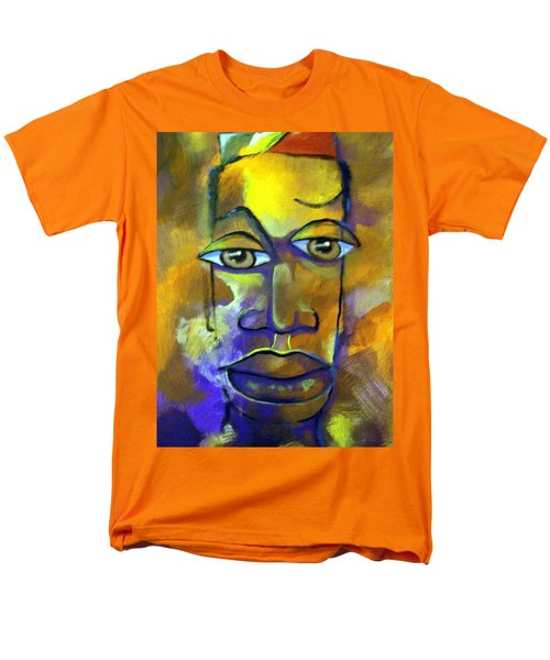 Abstract Young Man Men's T-Shirt  (Regular Fit) by Raymond Doward