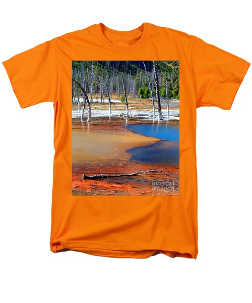 Acid Soup Yellowstone Men's T-Shirt  (Regular Fit) by Diane E Berry