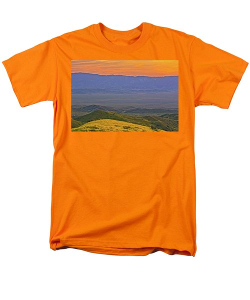 Across The Carrizo Plain At Sunset Men's T-Shirt  (Regular Fit) by Marc Crumpler