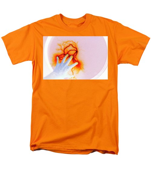 Men's T-Shirt  (Regular Fit) featuring the photograph Alien Encounter Outside Looking In by Paul W Faust - Impressions of Light