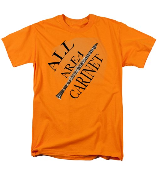 All Area Clarinet Men's T-Shirt  (Regular Fit) by M K  Miller