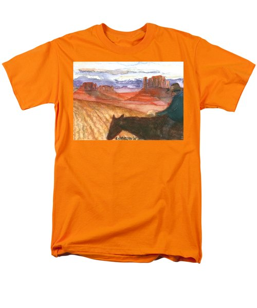 Almost Home Men's T-Shirt  (Regular Fit) by Eric Samuelson