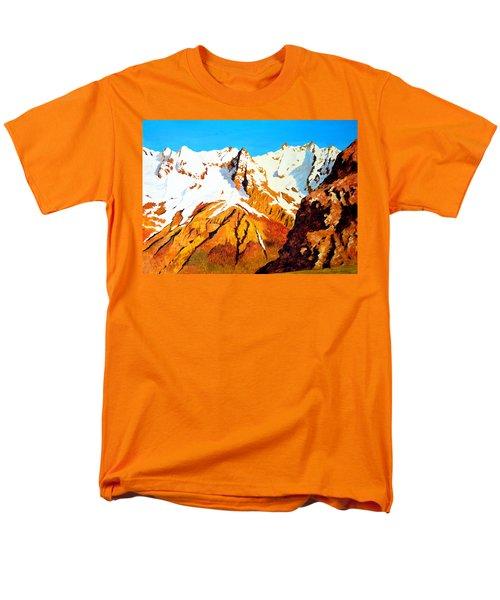 Alpine Landscape Men's T-Shirt  (Regular Fit) by Henryk Gorecki