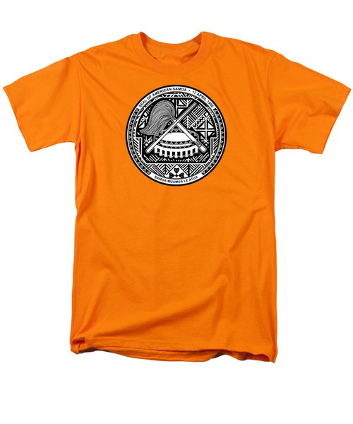 American Samoa Seal Men's T-Shirt  (Regular Fit) by Movie Poster Prints