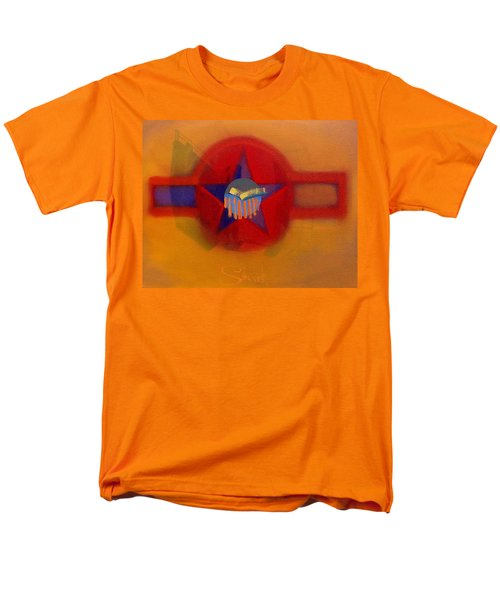 Men's T-Shirt  (Regular Fit) featuring the painting American Sub Decal by Charles Stuart