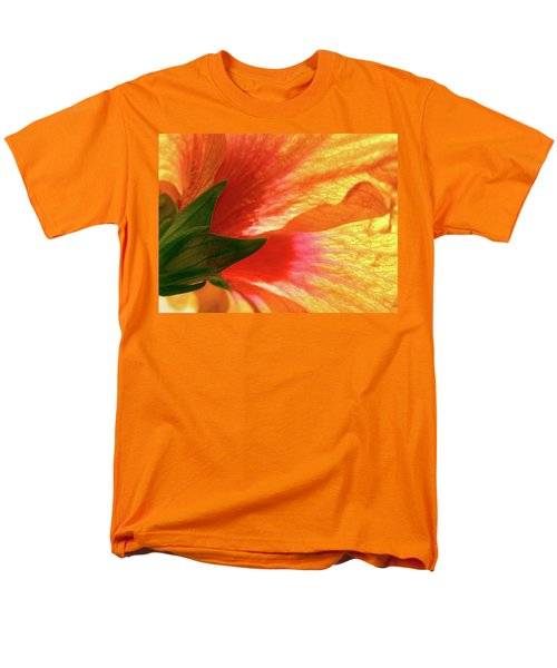 Men's T-Shirt  (Regular Fit) featuring the photograph Angel Brushstrokes  by Marie Hicks