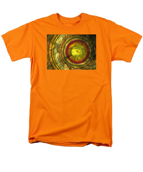Men's T-Shirt  (Regular Fit) featuring the digital art Apollo - Abstract Art by Sipo Liimatainen