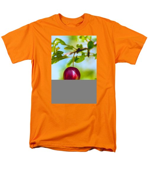 Men's T-Shirt  (Regular Fit) featuring the photograph  Crab Apple by Constantine Gregory