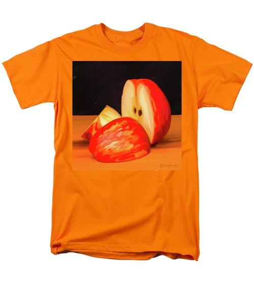 Apple Study 01 Men's T-Shirt  (Regular Fit) by Wally Hampton