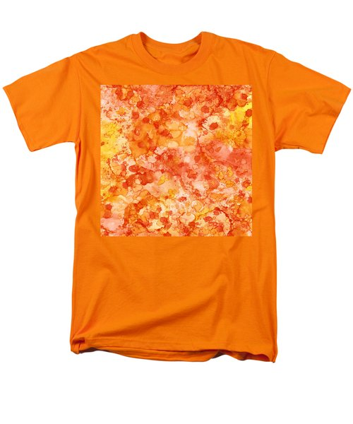 Apricot Delight  Men's T-Shirt  (Regular Fit) by Patricia Lintner
