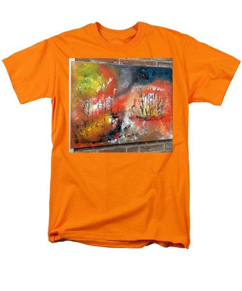 Art Work Men's T-Shirt  (Regular Fit) by Sheila Mcdonald