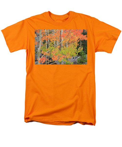 Aspen Stoplight Men's T-Shirt  (Regular Fit) by David Chandler