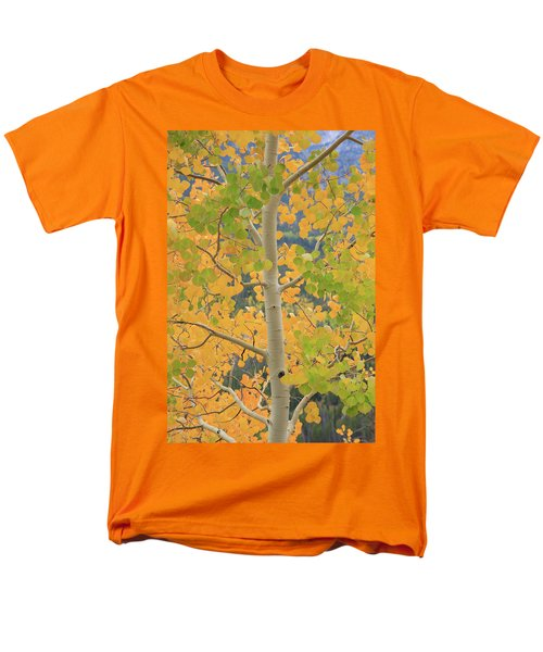 Aspen Watching You Men's T-Shirt  (Regular Fit) by David Chandler