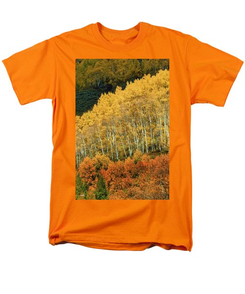 Men's T-Shirt  (Regular Fit) featuring the photograph Aspen Waves by Dana Sohr
