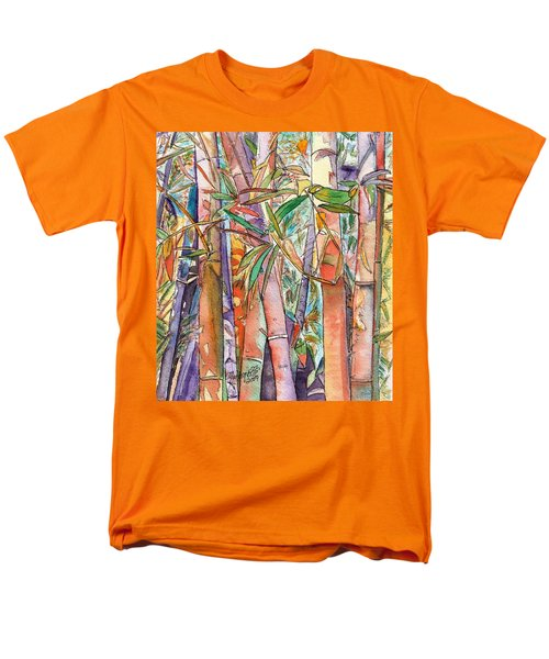 Autumn Bamboo Men's T-Shirt  (Regular Fit) by Marionette Taboniar